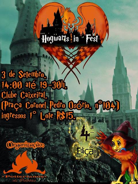 Venha conhecer o Hogwarts in Fest que celebra Harry Potter no Rio Grande do Sul
