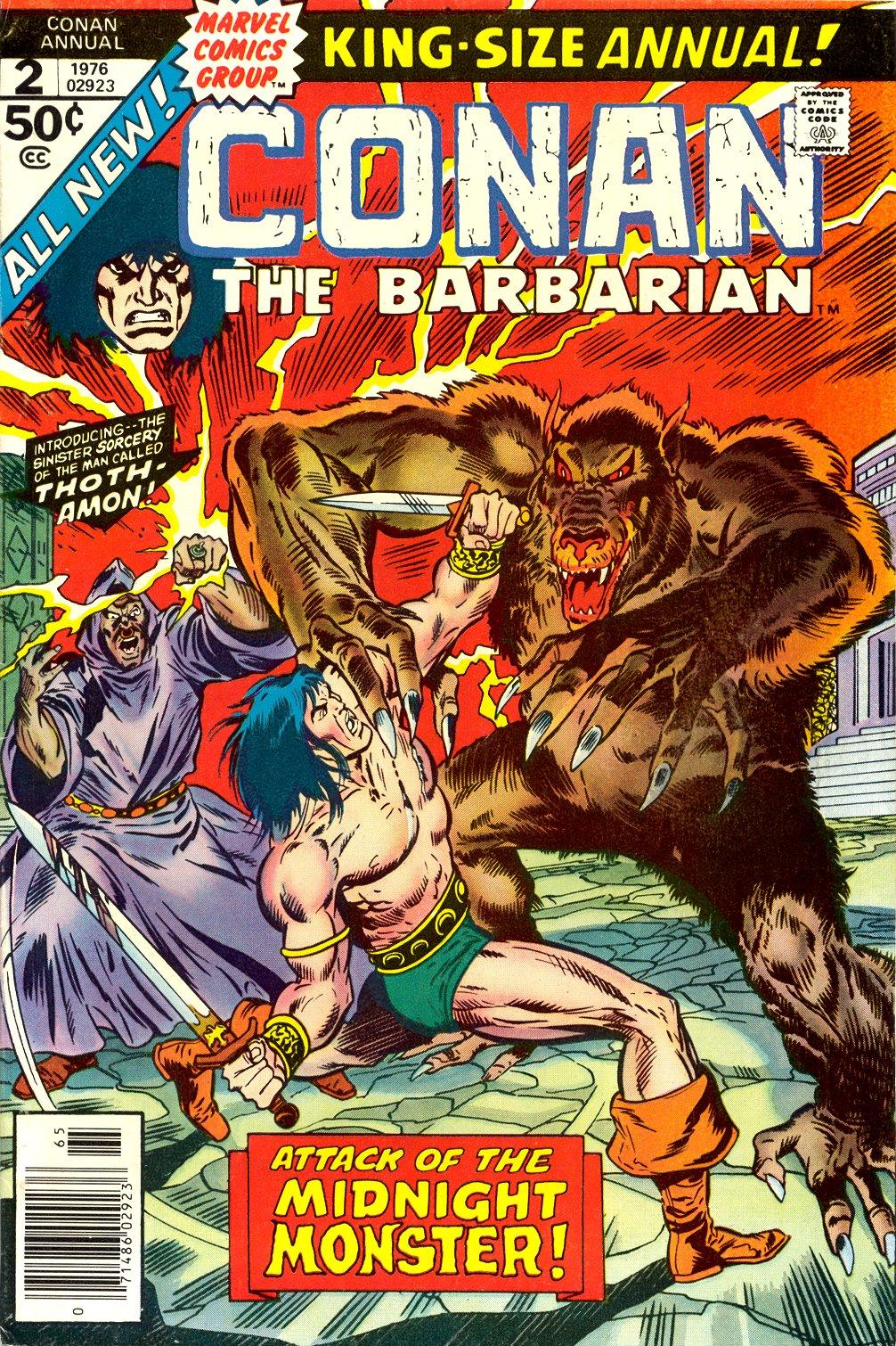 Conan the Barbarian (1970) Annual_2 Page 1