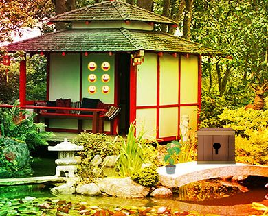AVMGames Chinese Garden House Escape