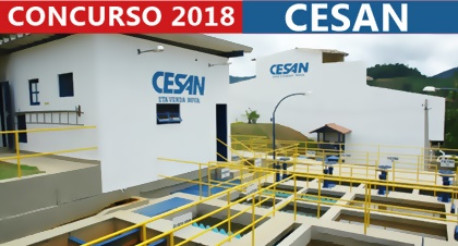 Edital concurso CESAN 2018