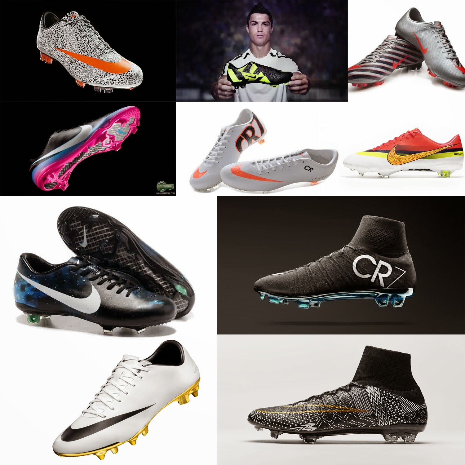 33cef53165 All Collection Nike CR7 Series From 2010 Until 2015
