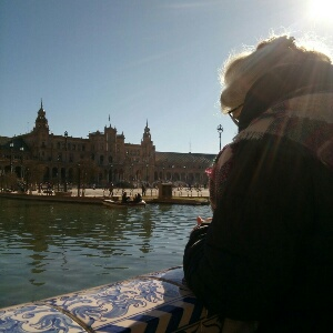 Inspiración en plaza España, Sevilla