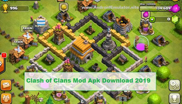 download clash of clans mod apk new update 2019