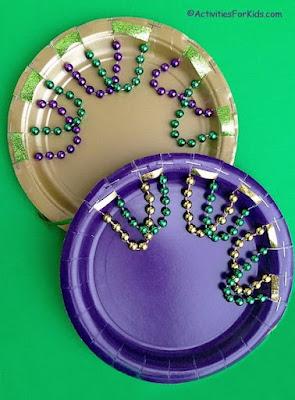 http://activitiesforkids.com/paper-plate-tambourine/