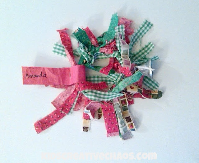 Preschool Craft: Jingle Bell Tambourine Wreath