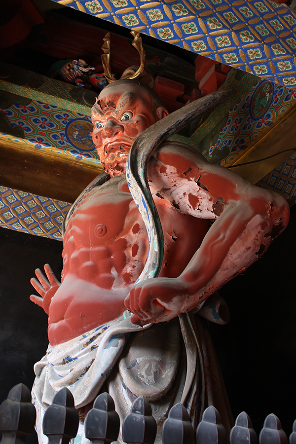 Statues bouddhistes, Nikko, Japon