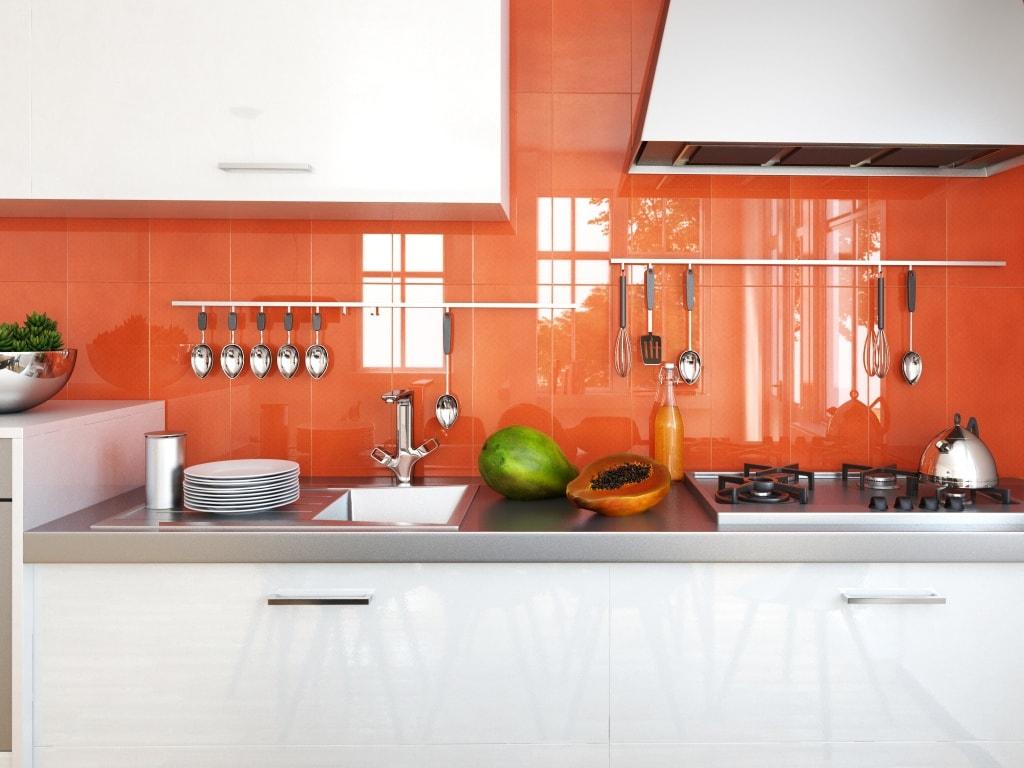 Ideas de revestimientos para las paredes de la cocina for Azulejo para barra de cocina