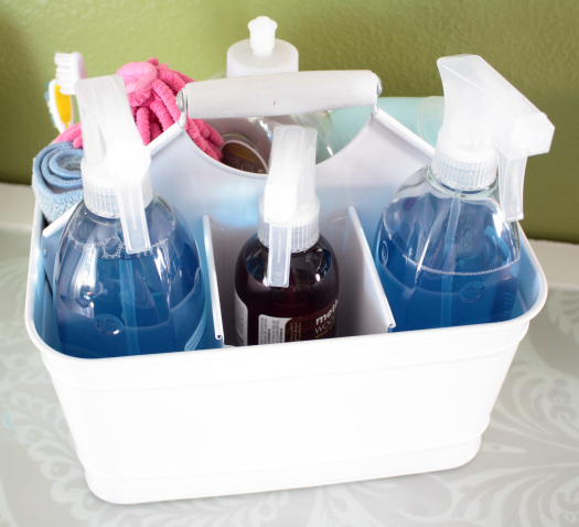 Creative Life Designs Creating A Cleaning Caddy
