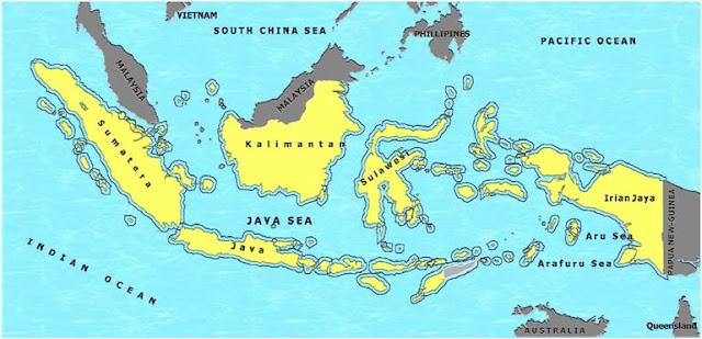 Wilayah perairan Indonesia sebelum Deklarasi Djuanda