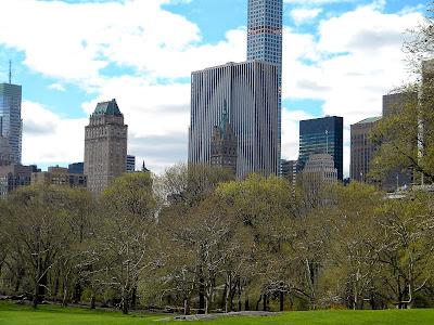 Central Park Gotham City Spring