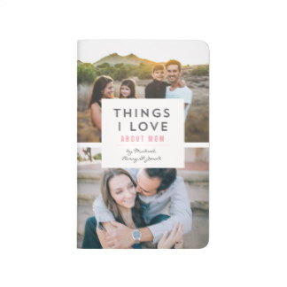 All Gifts for Mom on Mother's Day - 'Things I Love About Mom' Photo Mini Book
