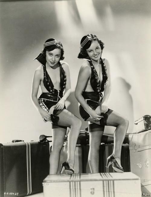 Sexy Bellhops: Rare Publicity Photographs of Edna Mae Jones and