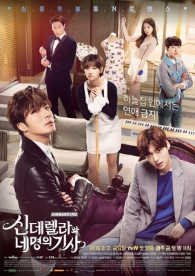sinopsis Cinderella and Four Knights