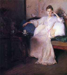 Edmund Charles Tarbell - Arrangement in Pink and Gray