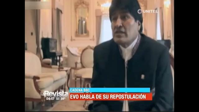 BBC: ENTREVISTA A EVO MORALES SOBRE SU REELECCIÓN