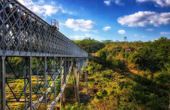 Jembatan Cirahong (Foto By Adi Aja Dech)