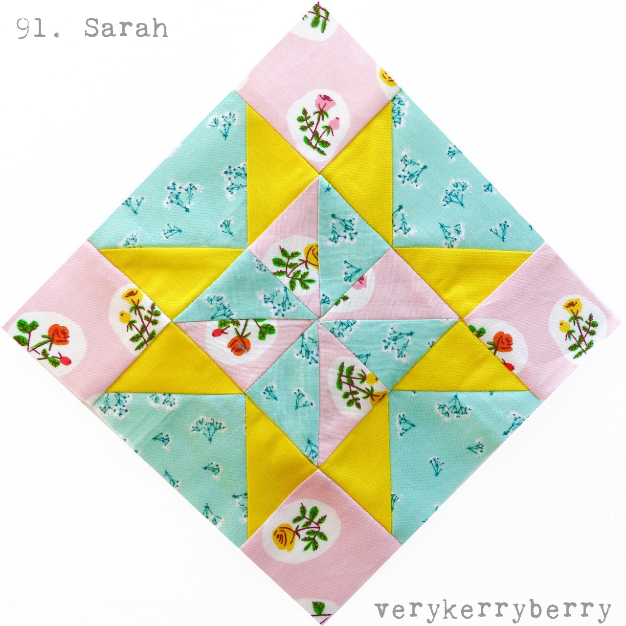 Farmer\'s Wife 1930s Quilt Along Blocks 91 and 92 Sarah and Sonnie ...