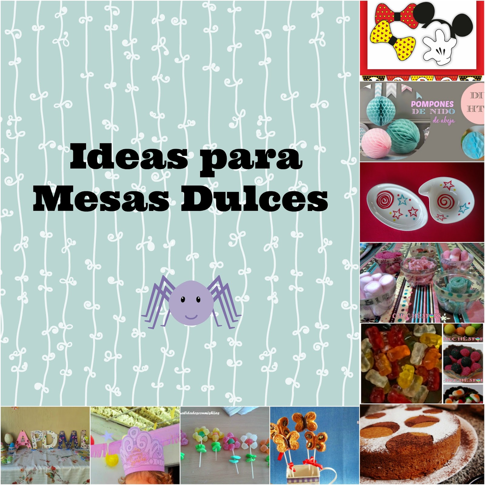 Ideas Decorar Mesas Cumple Lunares Rojos