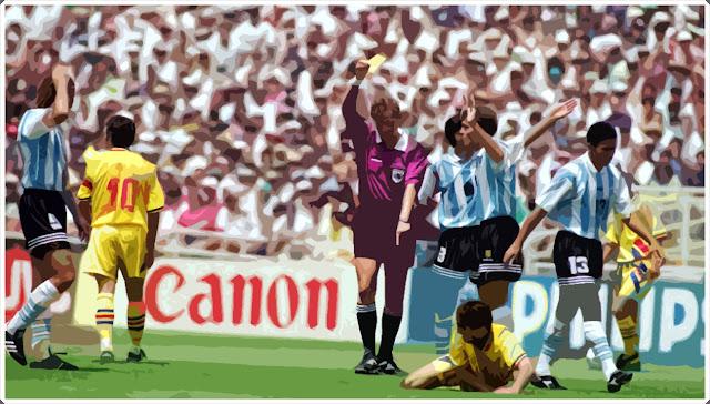 Romênia Argentina Copa do Mundo 1994