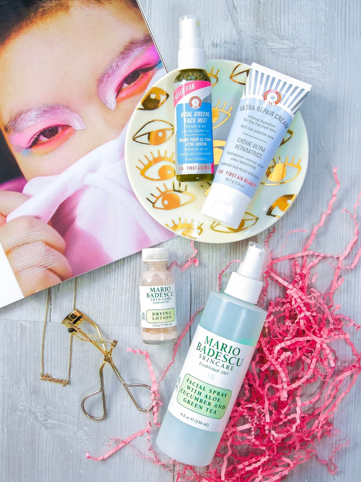 best skincare combination skin mario badescu first aid beauty face mist