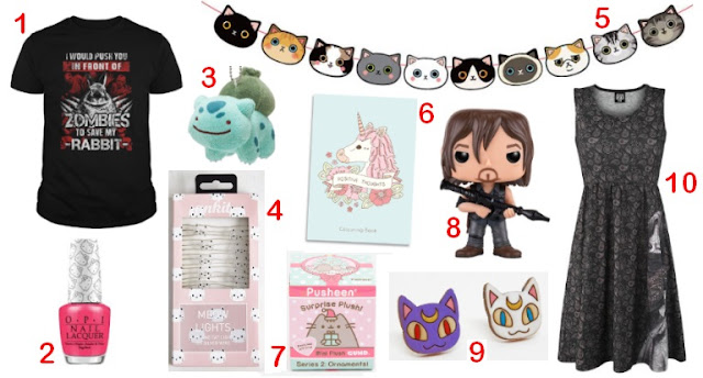 November Kawaii & Geeky Wishlist