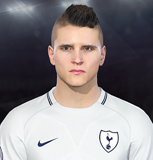 PES 2018 Faces Erik Lamela by Prince Hamiz