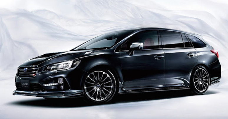 subaru revals the sti sport wagon