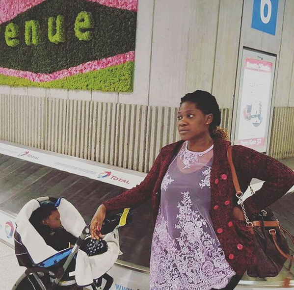 mercy johnson paris france