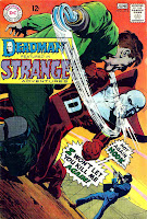 Strange Adventures v1 #212 dc 1960s silver age comic book cover art by Neal Adams
