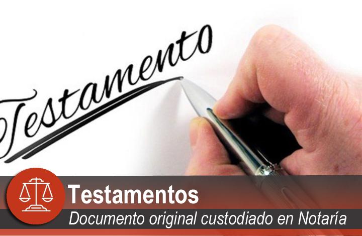 Tipos de testamentos en Santander