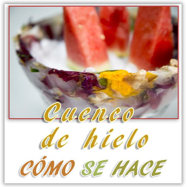 CUENCO DE HIELO...