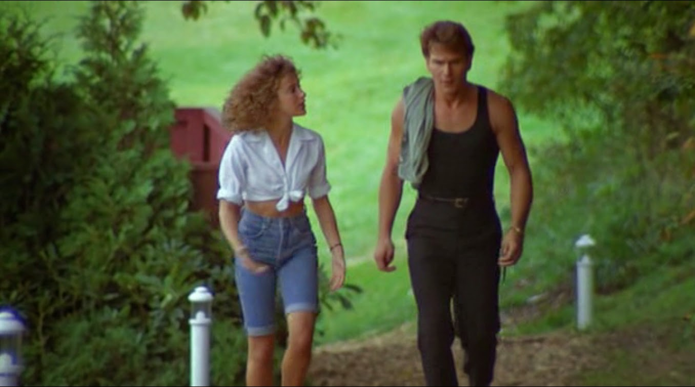 Image result for dirty dancing rehearsal scene