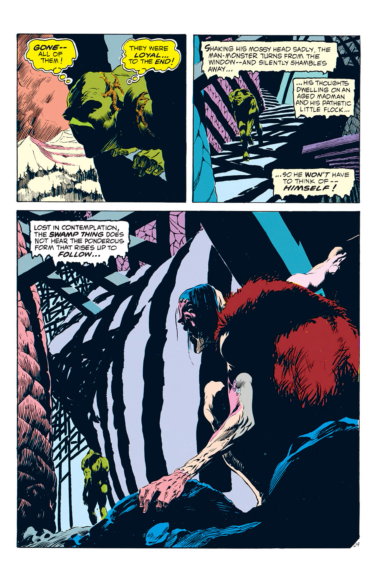 Swamp Thing (1972) Issue #2 #2 - English 25