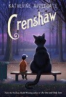Crenshaw Katherine Applegate book cover
