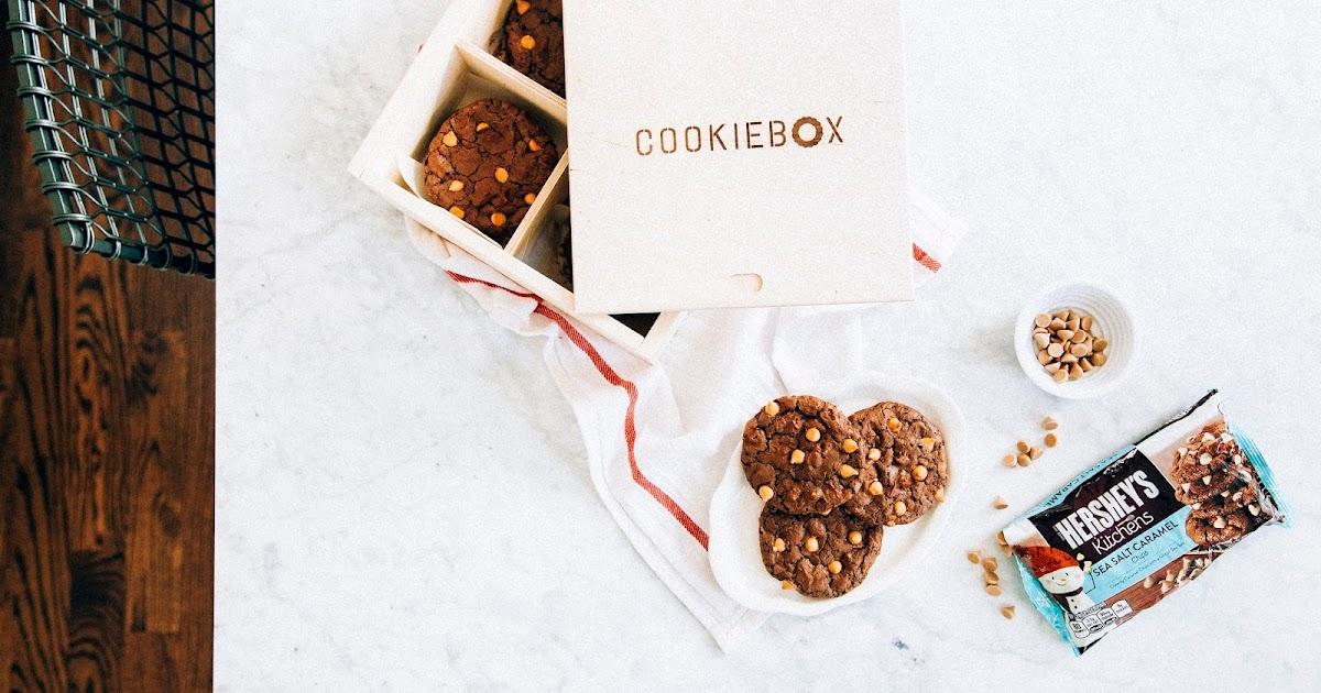 chocolate truffle cookies with sea salt caramel chips - hummingbird ...