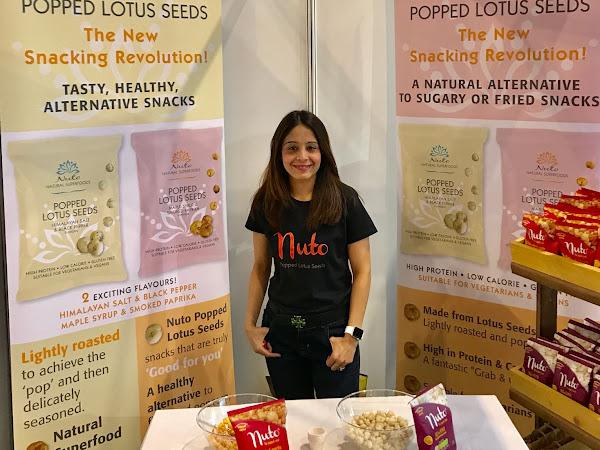 Interview: Nuto Popped Lotus Seeds - Vegan & Gluten Free