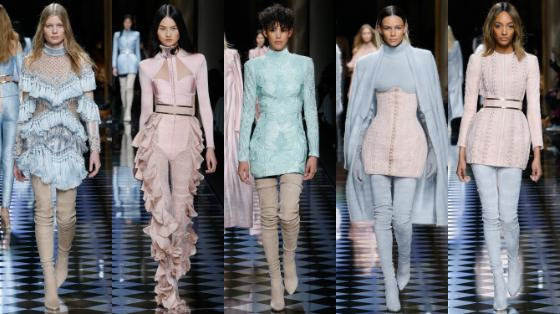 paris fashion week 2016 balmain