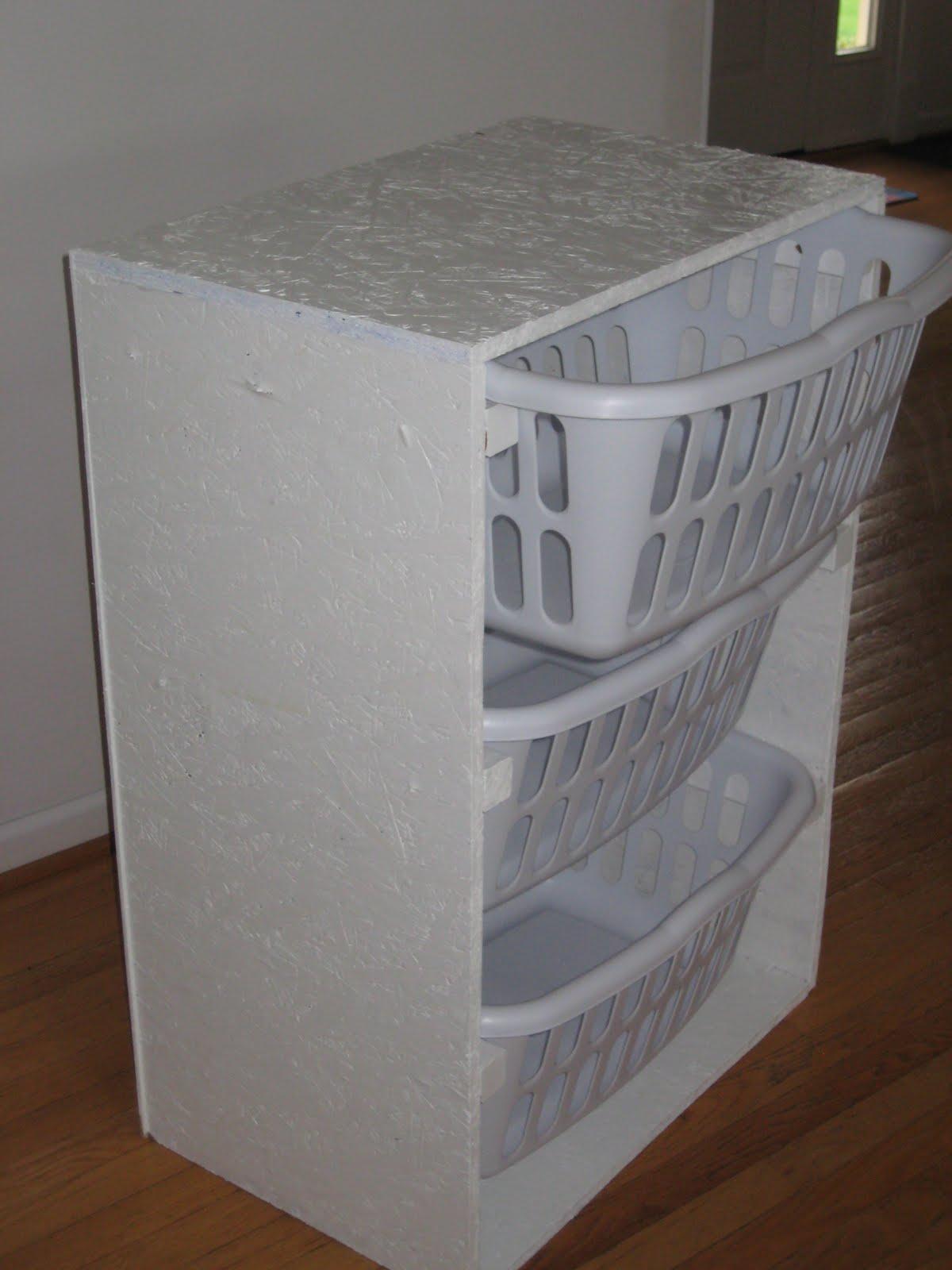 Lovelace Files Laundry Basket Dresser
