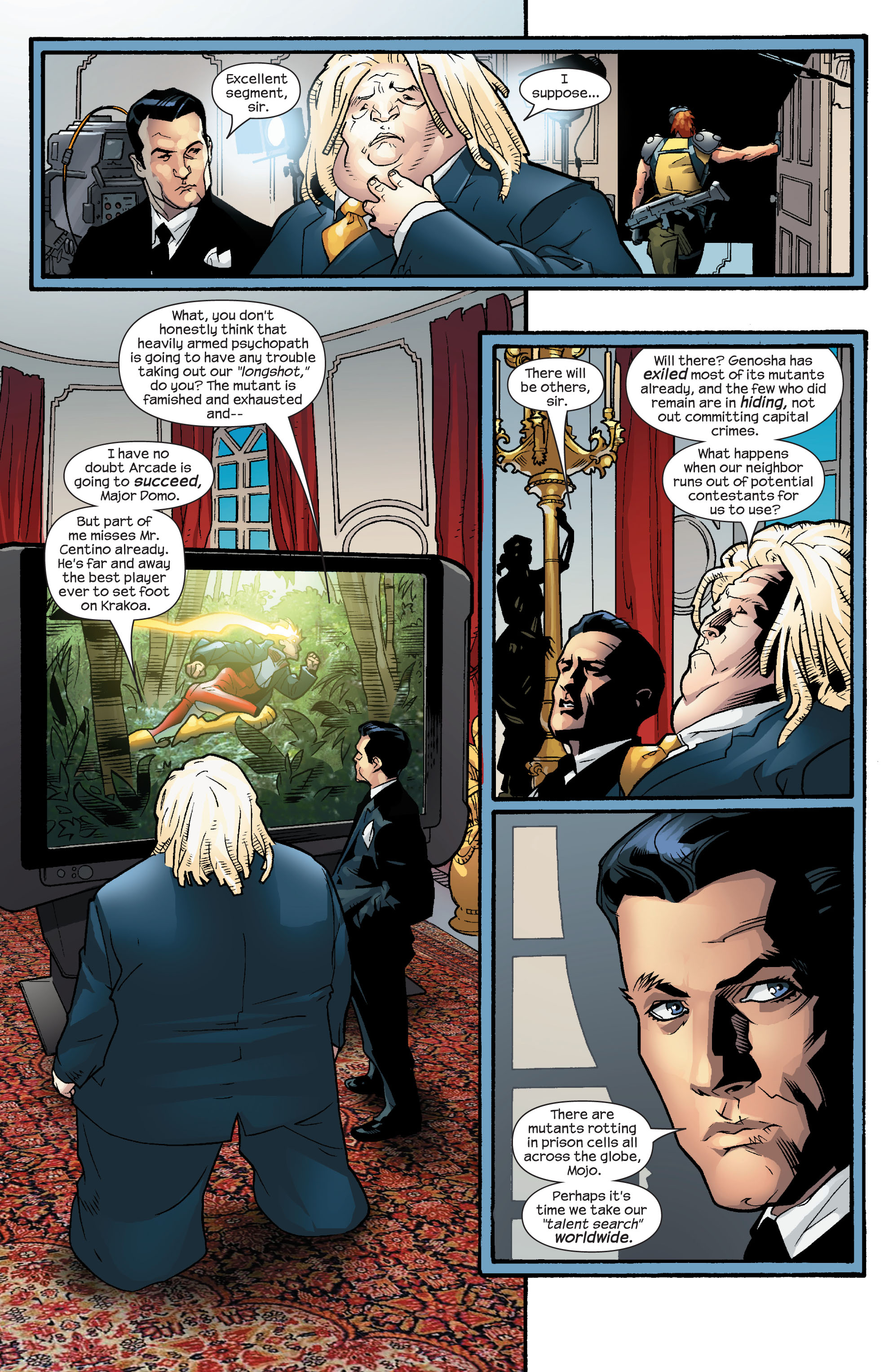 Read online Ultimate X-Men comic -  Issue #55 - 8