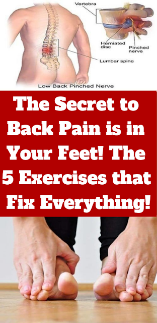 The Secret to Back Pain is in Your Feet! The 5 Exercises that Fix Everything!
