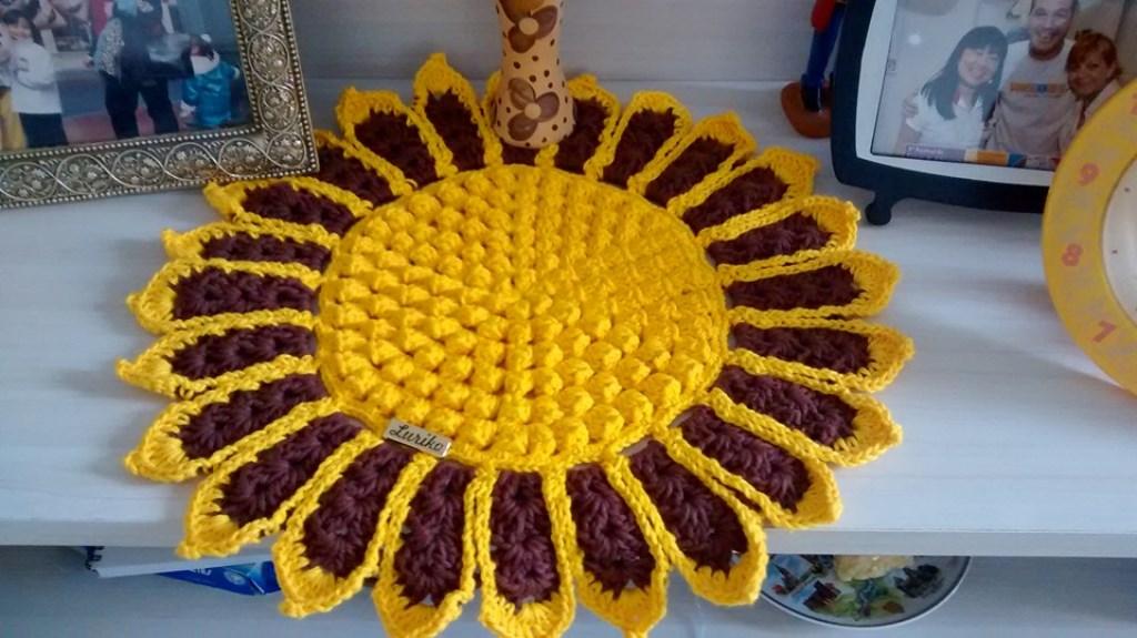 Como Fazer Centro De Mesa De Crochê Com Ponto Pipoca Armarinho São