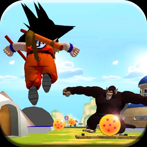 تحميل لعبة Adventure Goku: Road To Saiyan v1.0 مهكرة وكاملة نقود لا نهاية