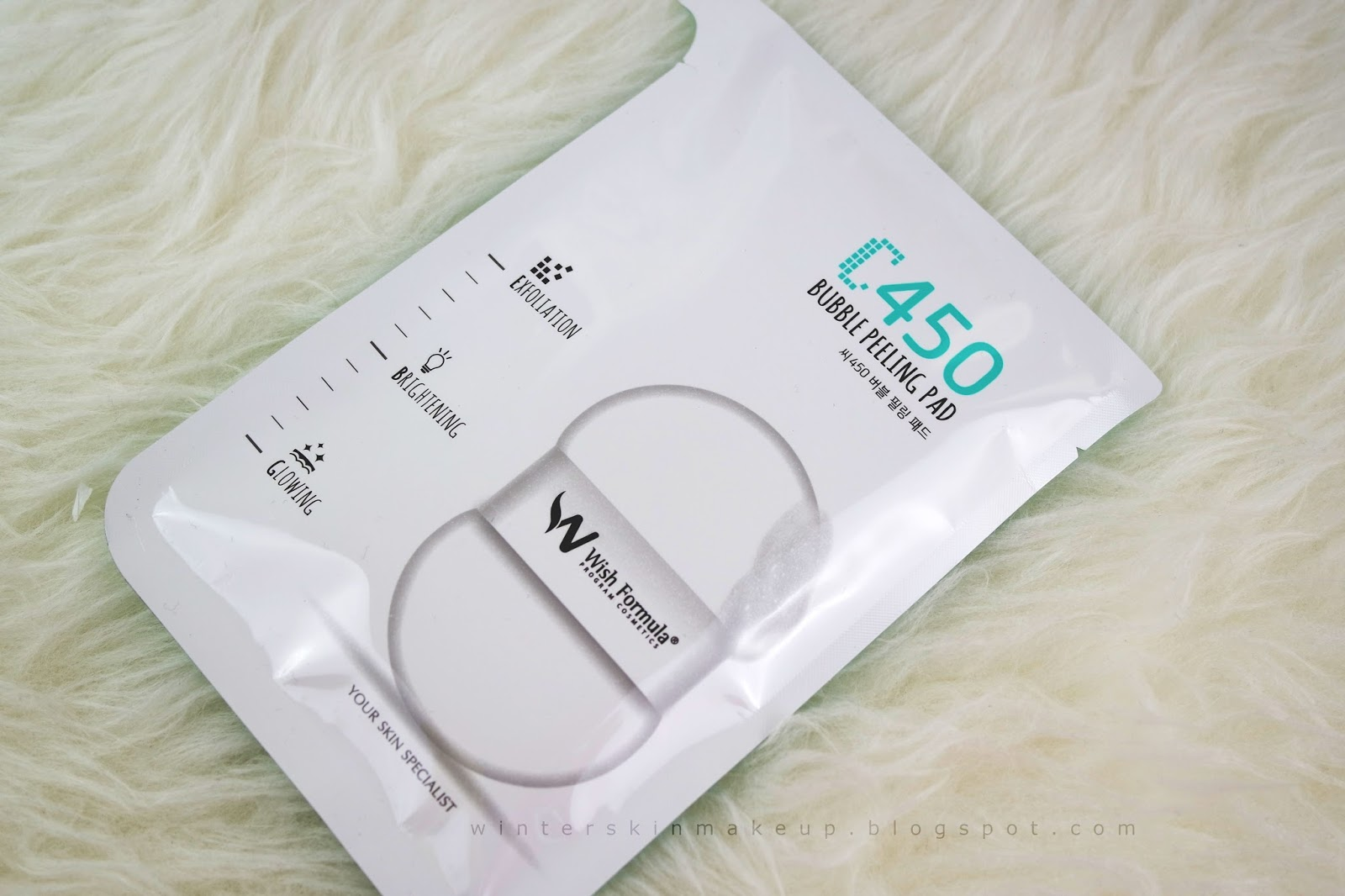 C450 Bubble Peeling Pad for Body