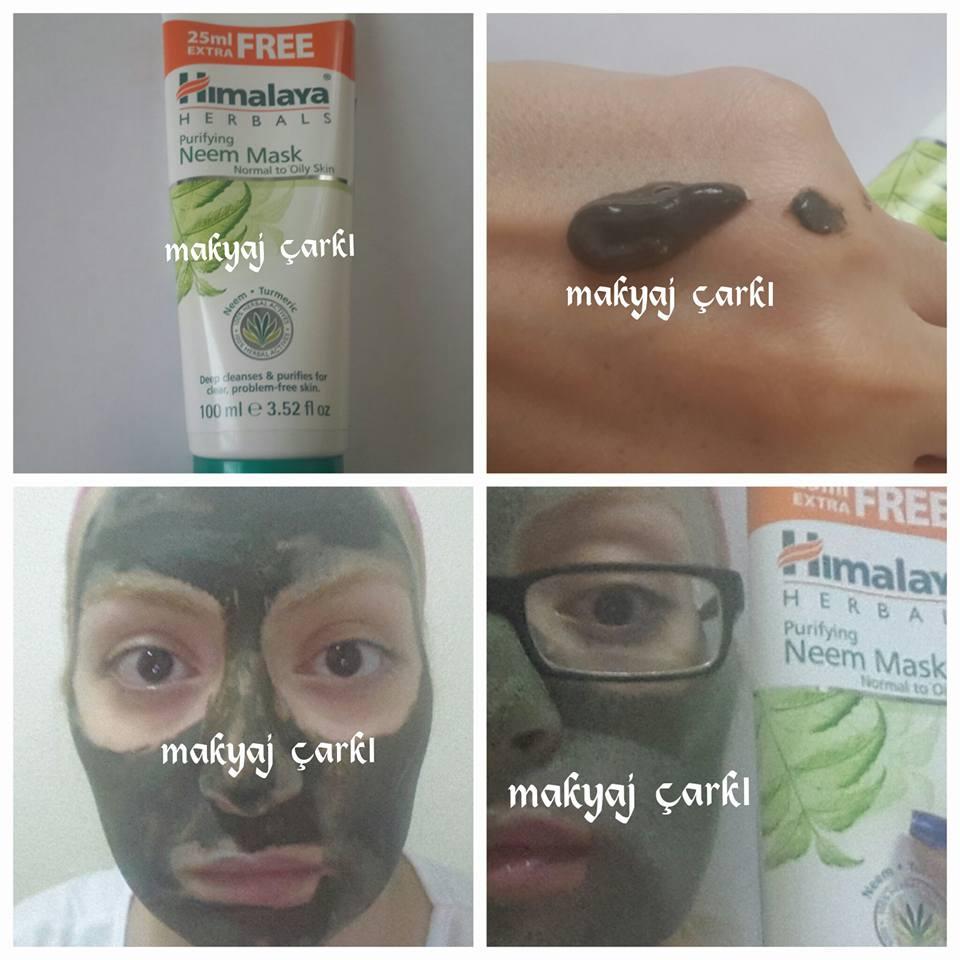 Tarçınlı siyah nokta maskesi