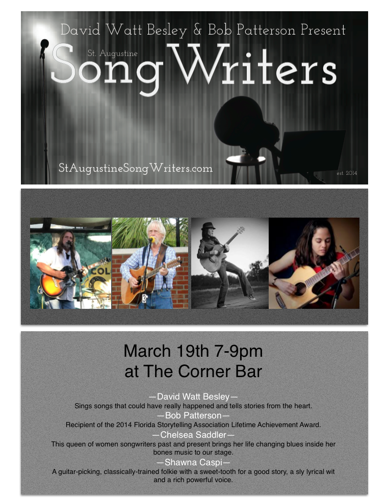 SINGER SONGWRITER NIGHT MAR 2018