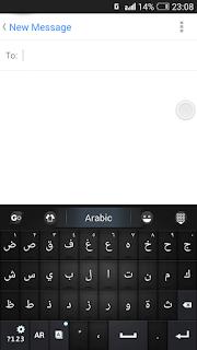 Go Keyboard Style Arab