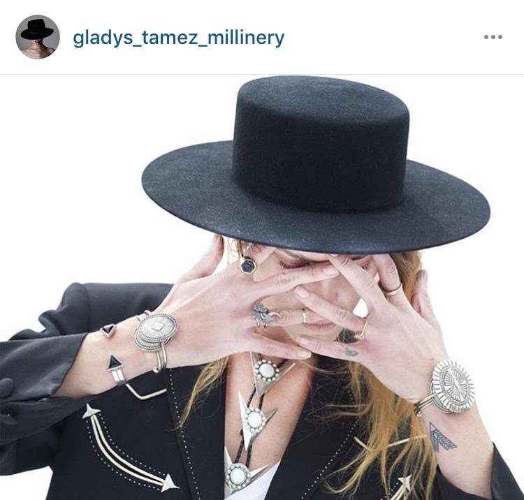 4ac29074c76 Instagram to Stalk  Gladys Tamez Millinery
