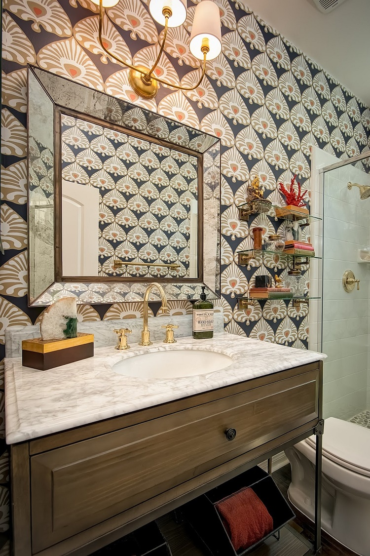 Gypsy Yaya Boho Bathroom Oasis