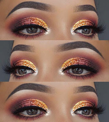 22+ Vibrant Summer Eye Beauty Makeup Styles for 2019