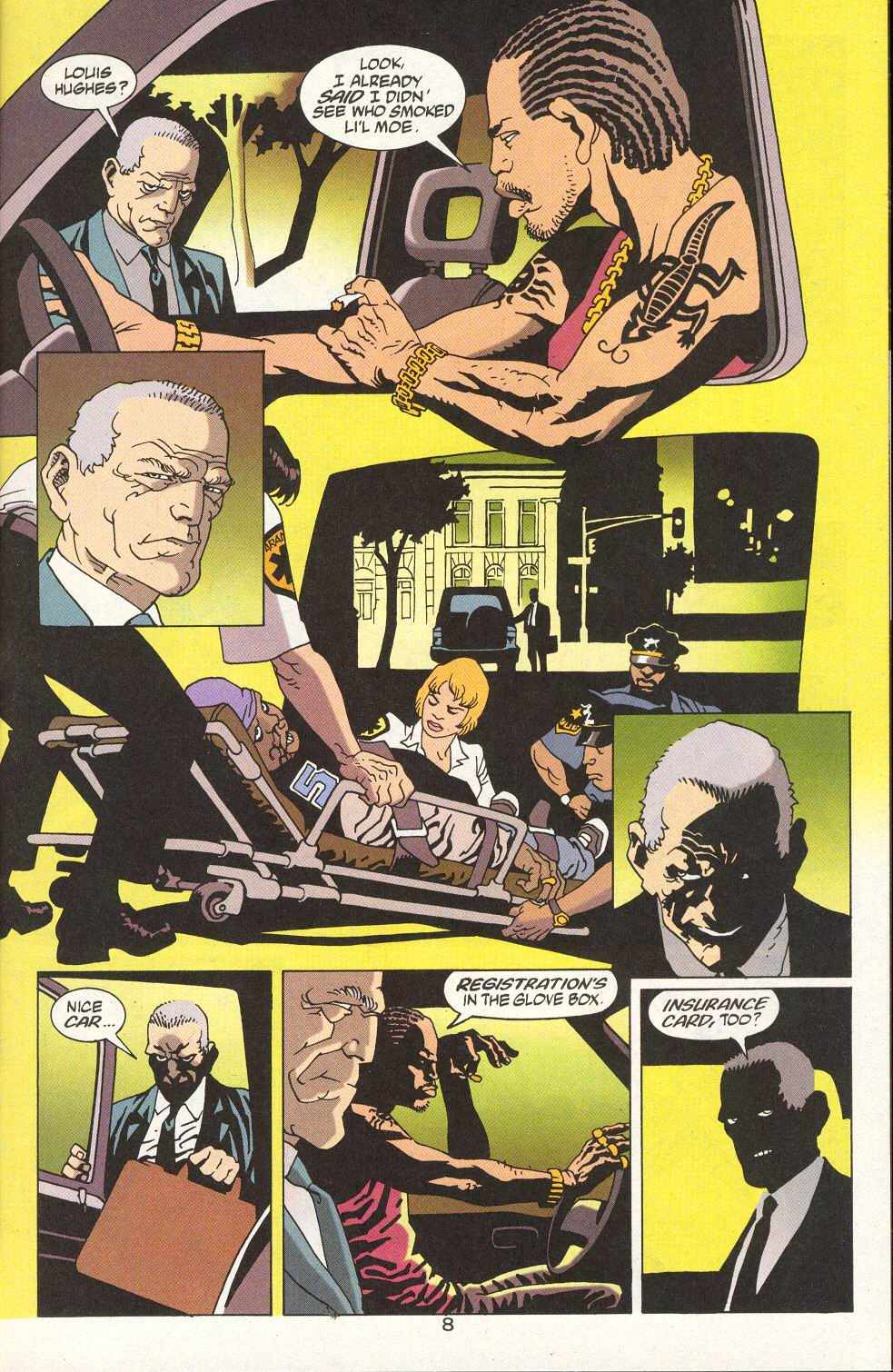 Read online 100 Bullets comic -  Issue #15 - 10